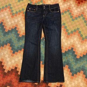 EUC American Eagle Artist Jeans 10 Dark Wash